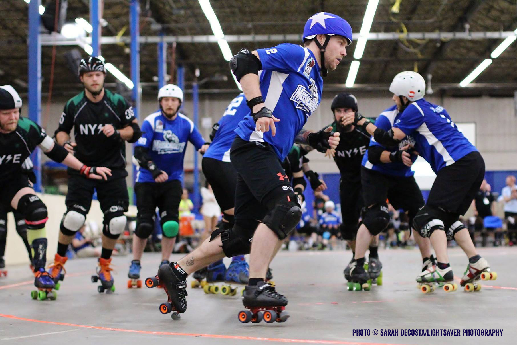 Men's Roller Derby and Boston All Stars Expo Game